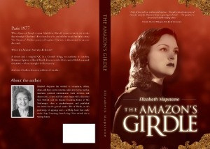 The Amazons Girdle draft on red - full cover
